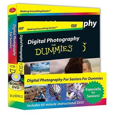 Digital Photography for Seniors For Dummies (DVD): Mark Justice Hinton