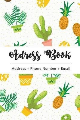 address book cute cactus the best solution for you to organize