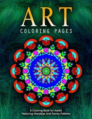 Art Coloring Pages, Volume 7 - Adult Coloring Pages (Paperback): Jangle Charm