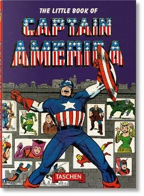 The Little Book of Captain America (English, French, German, Paperback): Roy Thomas