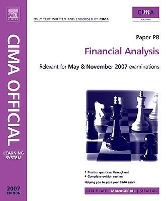 Cima Learning System 2007 Financial Analysis (Electronic book text): Catherine Gowthorpe