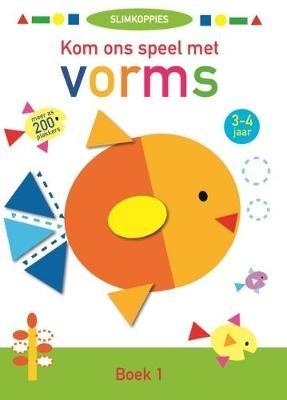 Kom Ons Speel Met Vorms: Boek 1 (Afrikaans, Paperback): Media Ballon