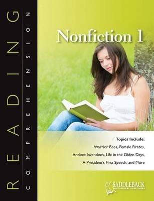 Reading Comprehension Nonfiction 1 eBook (Electronic book text): Saddleback Educational Publishing