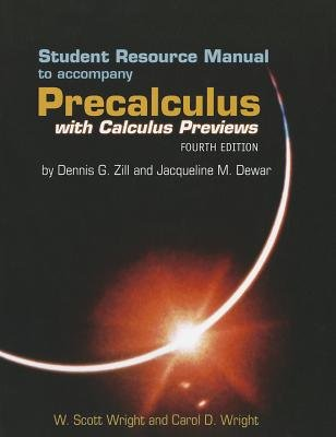 Precalculus with Calculus Previews - Student Study Guide
