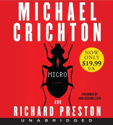 Micro Low Price CD (Standard format, CD, Unabridged edition): Michael Crichton, Richard Preston