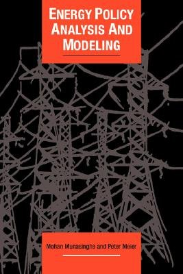 Energy Policy Analysis and Modelling (Paperback): Mohan Munasinghe, Peter Meier