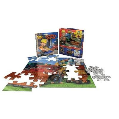 Bob the Builder Let's Build it Activities - Activity Book and 2-in-1 Jigsaw Puzzle (Paperback):