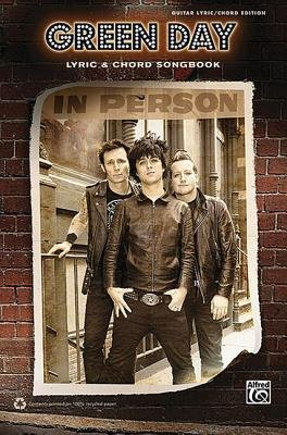 Green Day Lyric & Chord Songbook (Paperback):