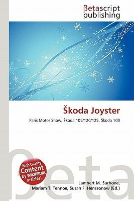 Koda Joyster (Paperback): Lambert M. Surhone, Mariam T. Tennoe, Susan F. Henssonow