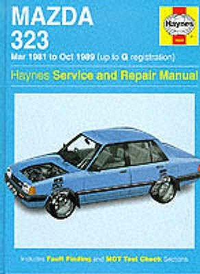 Mazda 323 (FWD) '81 to '89 Service and Repair Manual (Hardcover, New edition): Mark Coombs