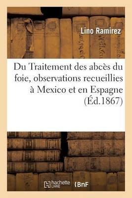 Du Traitement Des Abces Du Foie, Observations Recueillies a Mexico Et En Espagne (French, Paperback): Ramirez-L, Lino Ramirez