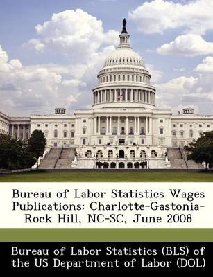 Bureau of Labor Statistics Wages Publications - Charlotte-Gastonia-Rock Hill, NC-SC, June 2008 (Paperback):