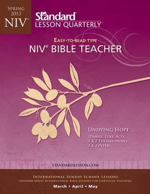 NIV(R) Bible Teacher-Spring 2013 (Pamphlet): Standard