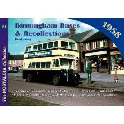 Birmingham Buses - 1958 (Paperback): David Harvey