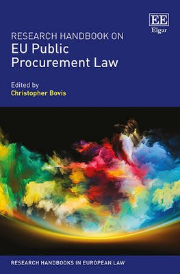 Research Handbook on EU Public Procurement Law (Hardcover): Christopher Bovis