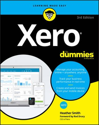 Xero for Dummies (Paperback, 3rd Revised edition): Heather Smith
