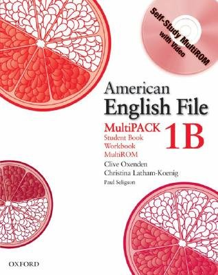 American English File Level 1: Student Book/Workbook Multipack B (Mixed media product): Clive Oxenden, Christina Latham-Koenig,...