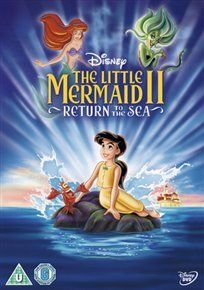 The Little Mermaid II - Return to the Sea (English, Norwegian, Danish, DVD): Jodi Benson, Samuel E. Wright, Tara Charendoff,...