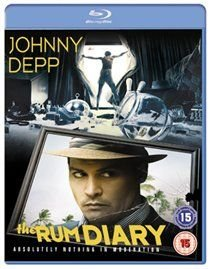 The Rum Diary (Blu-ray disc): Johnny Depp, Amber Heard, Giovanni Ribisi, Aaron Eckhart, Richard Jenkins, Amaury Nolasco,...