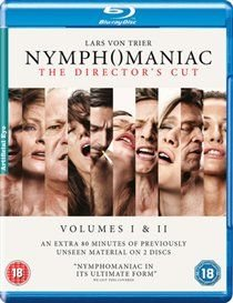 Nymphomaniac: Volumes 1 & 2 - The Director's Cut (Blu-ray disc): Stellan Skarsgård, Christian Slater, Jamie Bell, Uma...