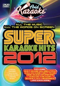 Super Karaoke Hits 2012 (DVD):