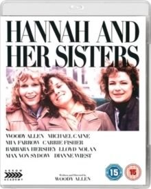 Hannah and Her Sisters (Blu-ray disc): Woody Allen, Michael Caine, Mia Farrow, Carrie Fisher, Barbara Hershey, Lloyd Nolan,...