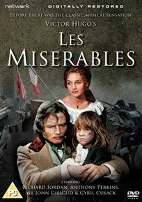 Les Miserables (DVD): Richard Jordan, Anthony Perkins, Cyril Cusack, Claude Dauphin, John Gielgud, Roy Evans, Christopher...