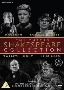 The Thames Shakespeare Collection (DVD): Ian McKellen, Judi Dench, Griffith Jones, Christopher Neame, Ann Hasson, Richard...