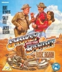 Smokey and the Bandit Ride Again (Blu-ray disc): Burt Reynolds, Jackie Gleason, Sally Field, Jerry Reed, Dom Deluise, Mike...