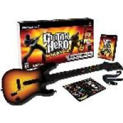 Guitar Hero - World Tour - Guitar Kit Bundle (PlayStation 2, Kit):