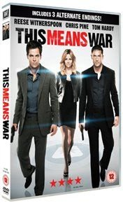 This Means War (DVD): Tom Hardy, Reese Witherspoon, Chris Pine, Warren Christie, Laura Vandervoort, Til Schweiger, Rebel...
