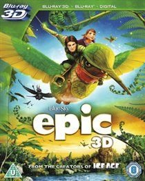 Epic (Blu-ray disc): Jason Sudeikis, Steven Tyler, Amanda Seyfried, Pitbull, Beyoncé Knowles, Josh Hutcherson, Judah...