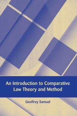 An Introduction to Comparative Law Theory and Method (Electronic book text, epdf): Geoffrey Samuel