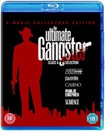 Ultimate Gangster Collection (Blu-ray disc, Boxed set): Denzel Washington, Russell Crowe, Chiwetel Ejiofor, Josh Brolin, Lymari...
