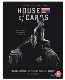 House of Cards: Season 2 (English, German, French, Blu-ray disc): Kevin Spacey, Robin Wright, Michael Kelly, Kristen Connolly,...