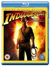 Indiana Jones and the Kingdom of the Crystal Skull (English & Foreign language, Blu-ray disc): Harrison Ford, Cate Blanchett,...