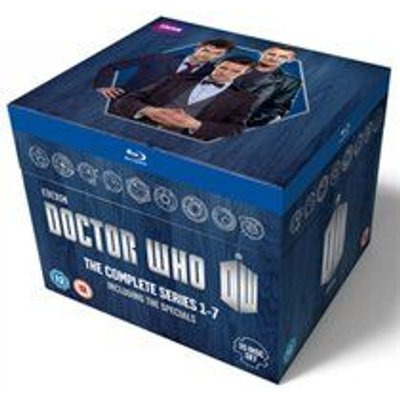 Doctor Who - The New Series: Series 1-7 (Blu-ray disc): Christopher Eccleston, David Tennant, Matt Smith, Billie Piper, Freema...