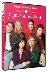 Friends: Season 1 - Extended Cut (DVD): Jennifer Aniston, Courteney Cox, Lisa Kudrow, Matt LeBlanc, Matthew Perry, David...