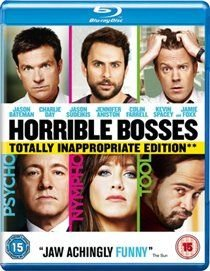Horrible Bosses (Blu-ray disc): Jennifer Aniston, Jason Bateman, Charlie Day, Jason Sudeikis, Colin Farrell, Jamie Foxx, Kevin...