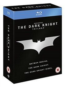 The Dark Knight Trilogy - Batman Begins / The Dark Knight / The Dark Knight Rises (Blu-ray disc, Boxed set): Christian Bale,...