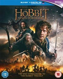 The Hobbit: The Battle of the Five Armies (English & Foreign language, Blu-ray disc): Ian McKellen, Cate Blanchett, Christopher...