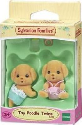 Sylvanian Families - Toy Poodle Twins: