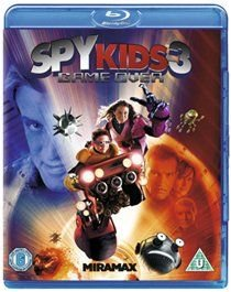 Spy Kids 3 - Game Over (Blu-ray disc): Antonio Banderas, Carla Gugino, Alexa Vega, Daryl Sabara, Ricardo Montalban, Holland...