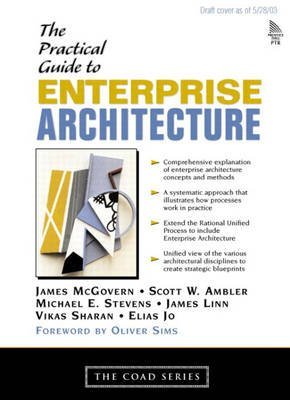 A Practical Guide to Enterprise Architecture (Paperback): James McGovern, Scott W Ambler, Michael E. Stevens, James Linn, Vikas...