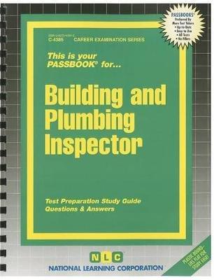 Building and Plumbing Inspector (Spiral bound): Jack Rudman