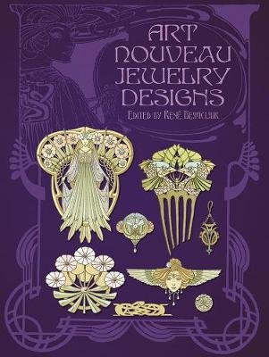 Art Nouveau Jewelry Designs (Paperback): Rene Beauclair