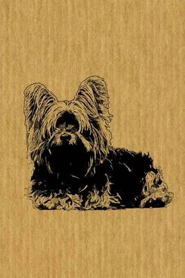Skye Terrier - Dog Lover's: Journal/Notebook/Diary (Paperback): Artified Pets