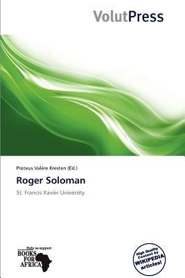 Roger Soloman (Paperback): Proteus Val Re Kresten