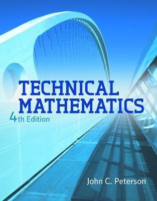Technical Mathematics (Hardcover, International Edition): Nicholas J. Giordano, John C Peterson
