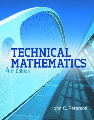 Technical Mathematics (Hardcover, International Edition): Nicholas J. Giordano, John C Peterson